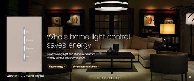 We Offer Certified Lutron Residential Pro Service